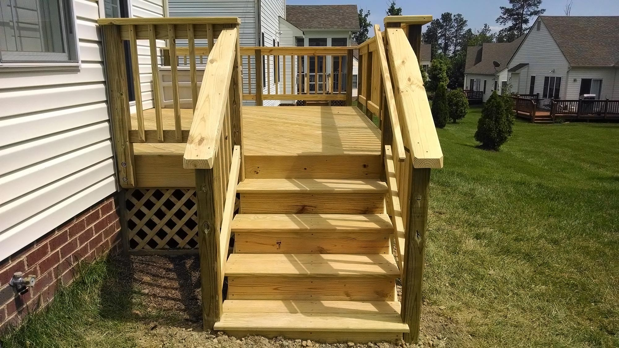 Deck And Storage Shed Midlothian Rva Remodeling Llc