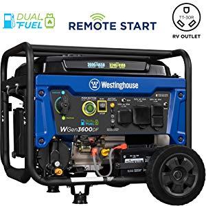 Remote Start Propane Generator