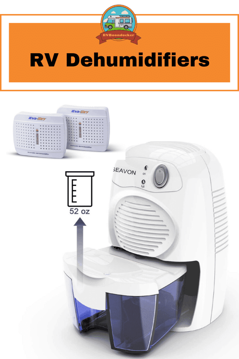 dehumidifier options for rv camper