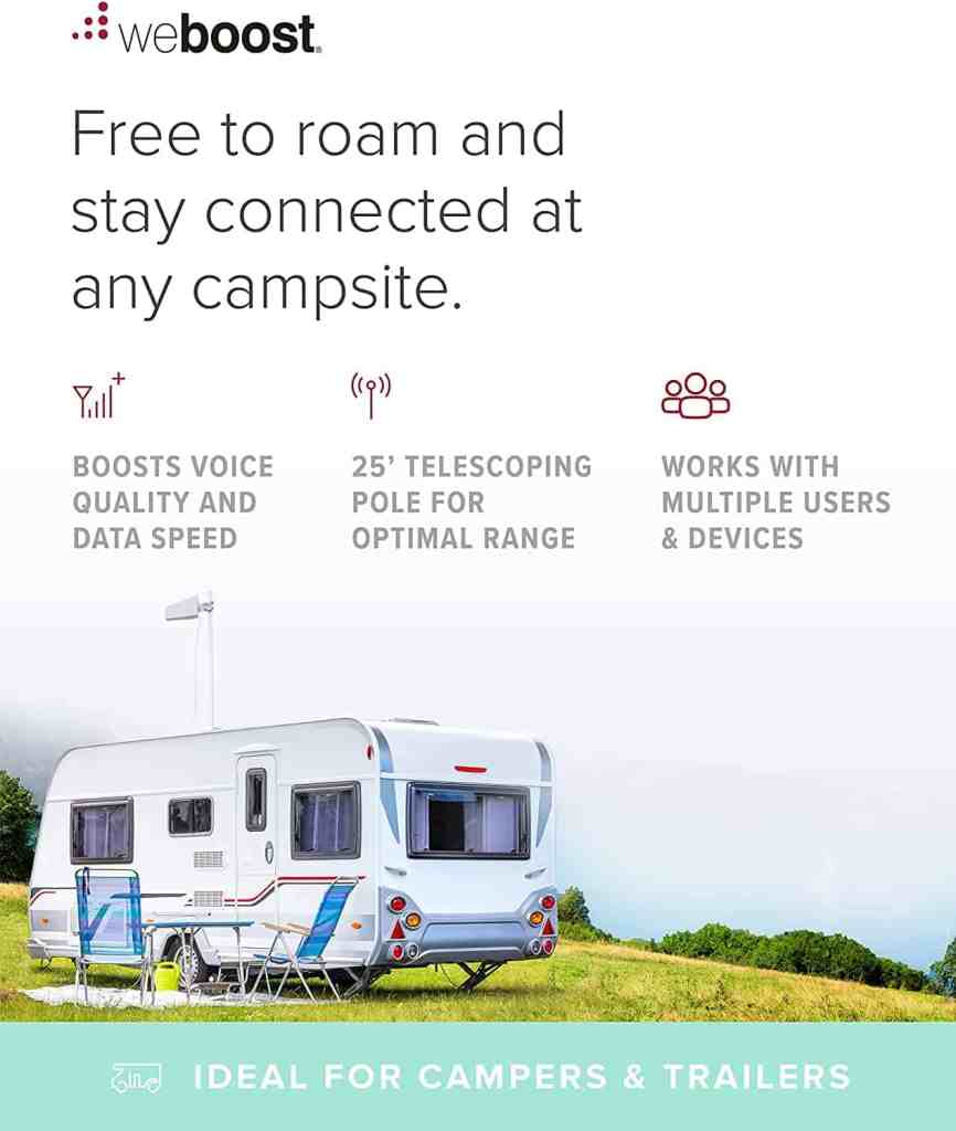 one of the top rv wifi solutions is a cell phone signal booster, this is one from weboost