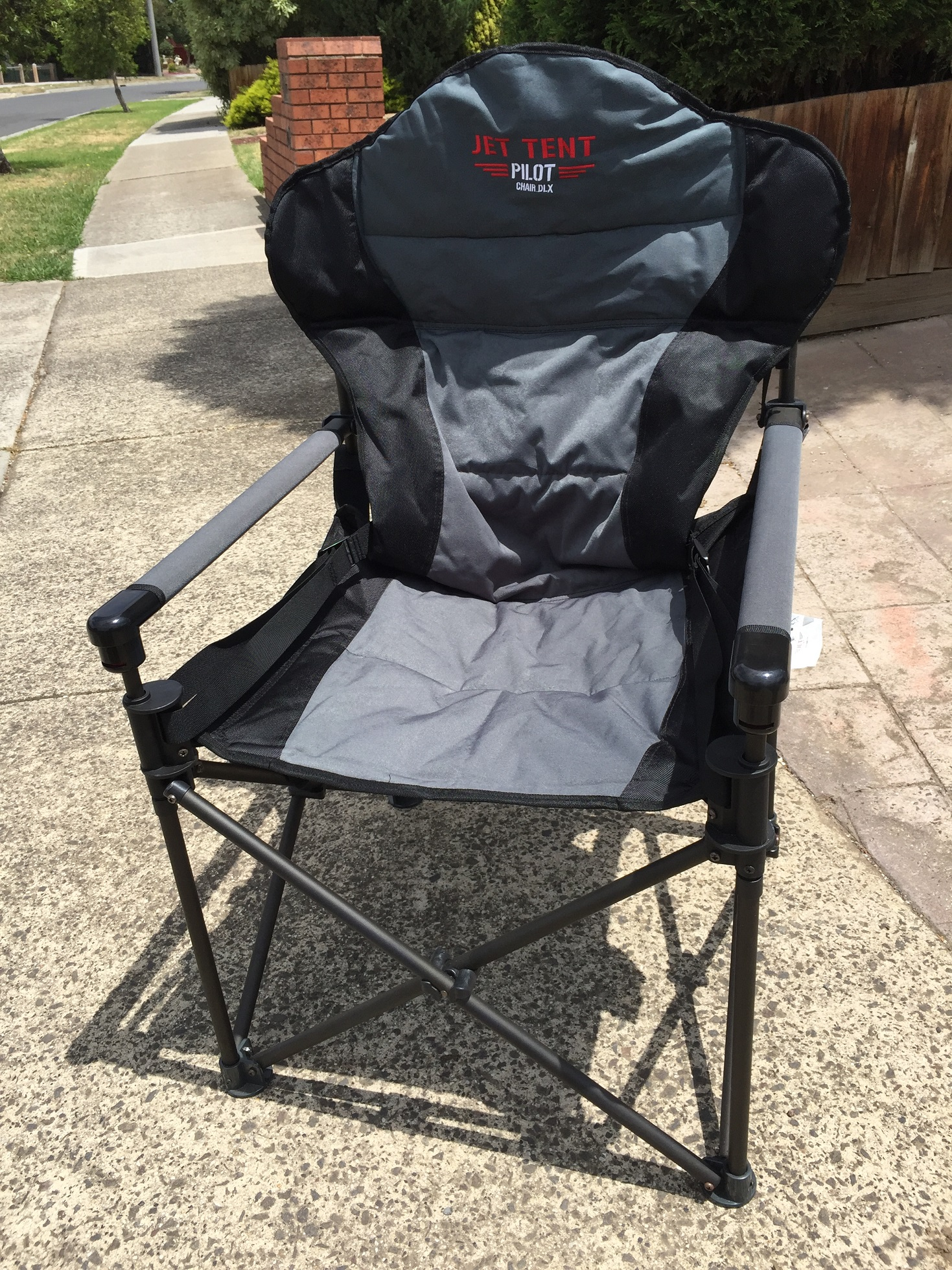 Buying a chair for general c&ing is probably not a huge issue for most people but when it comes to buying a chair for extended outback travel ... & Jet Tent Pilot DLX Camp Chair - RVeeThereYet