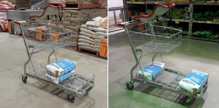 dynamic-trolley weight handling demonstration