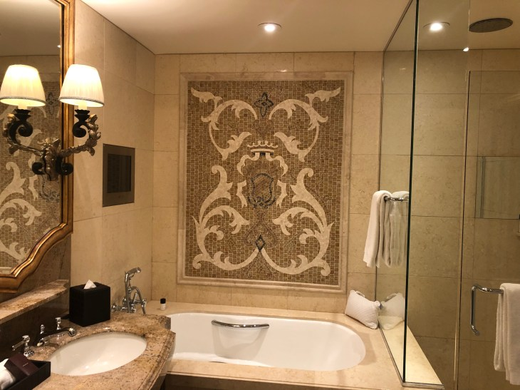 Elegant bathroom.