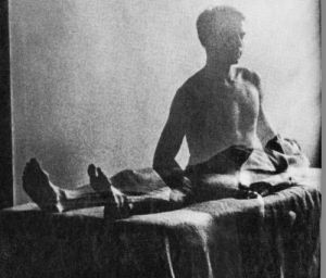 Detail from cover photo from Journeys out of the Body by Robert A. Monroe