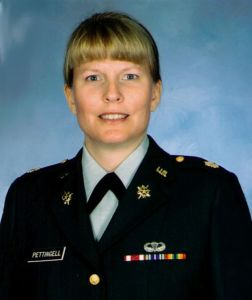 Lieut. Col. Gabrielle Pettingell (1961-2002) was an exceptional remote viewer and remote viewing trainer