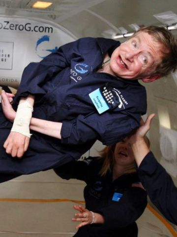 Stephen Hawking in Zero-G