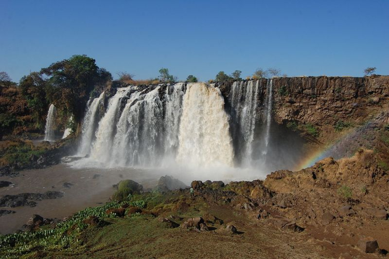 Feedback photo for controlled remote viewing session 110326292. Target was Blue Nile Falls, Ethiopia