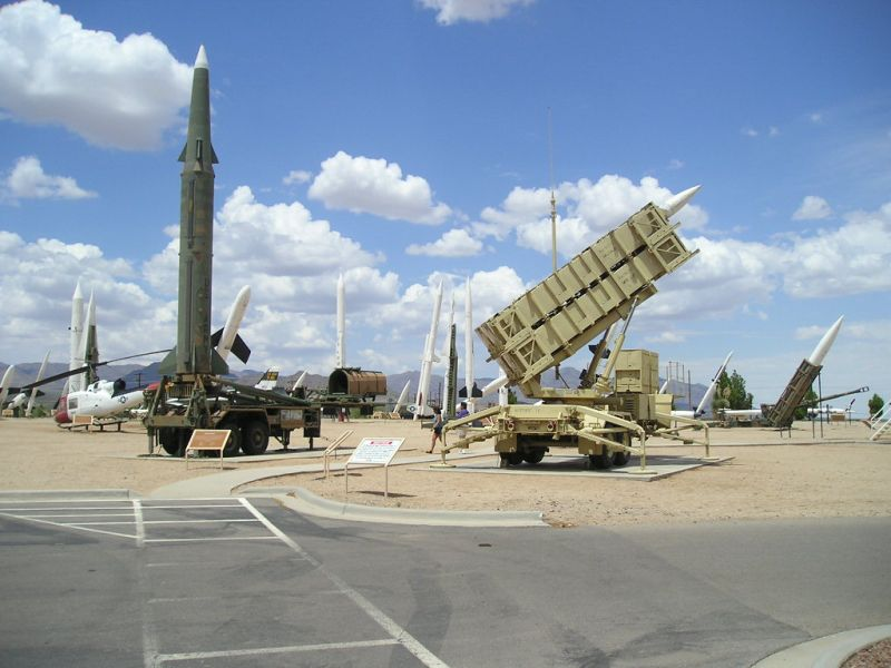 White Sands Missile Range Missile Display