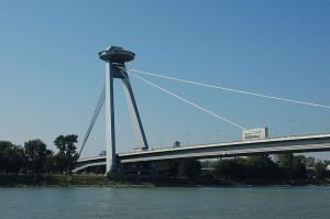 Novy Most Bridge, Bratislava, Slovakia--a different view