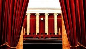 Interior of the US Supreme Court