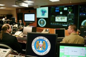 The Threat Operations Center inside NSA's main building