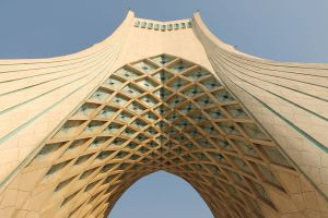 target 200809661 is the Azadi Tower in Tehran, Iran