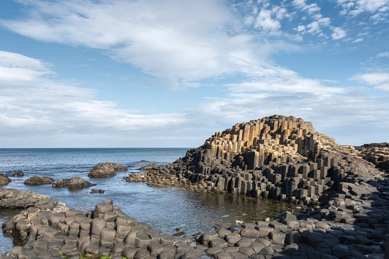 Remote viewing target 210120418 is the Giant's Causeway in Northern Ireland