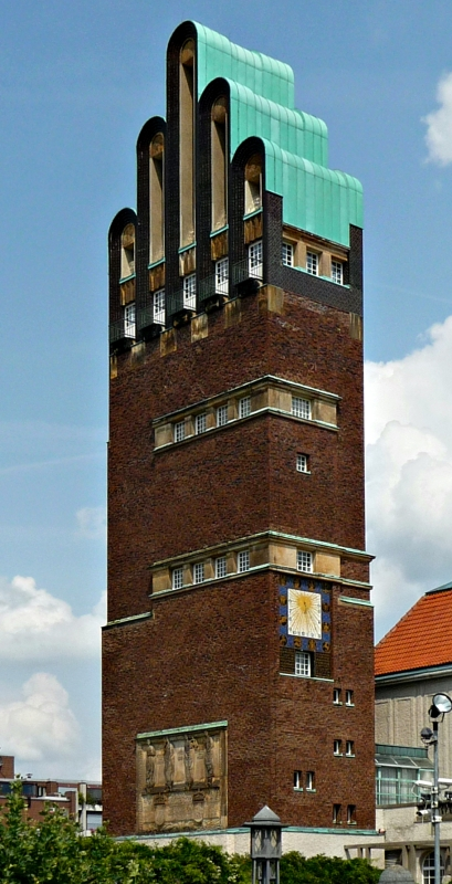 """Remote viewing target 210202448 is the Hochzeitsturm (""""Marriage Tower"""") in Darmstadt, Germany"""