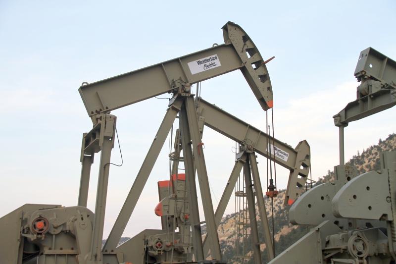 Target 210303573 is a set of oil filed pump jacks 12.5 miles southwest of Duchesne Utah next to UT Hwy 191