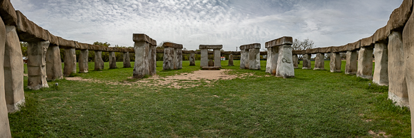 A view from inside the ring of Stonehenge II
