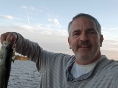 Brad Saum and bass fishing