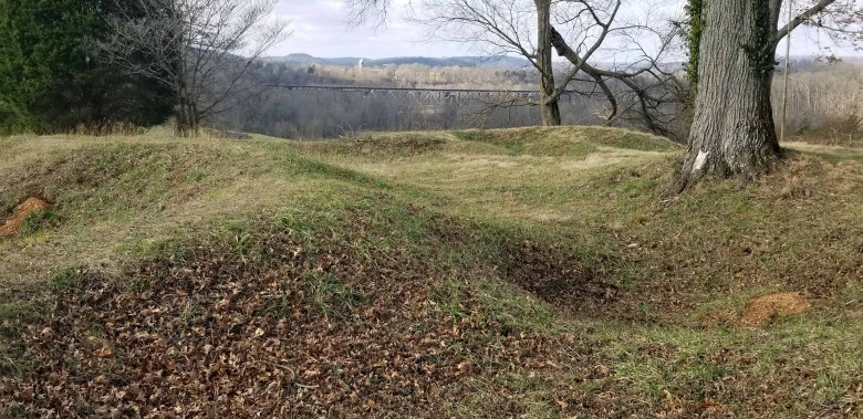 Fort Craig is a well preserved historical five star shaped earthen civil war fort.