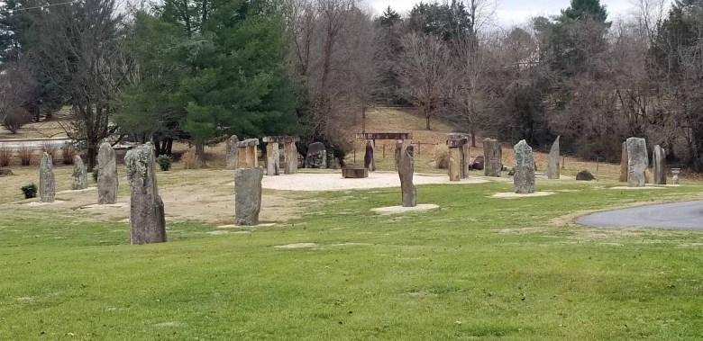 Although privately  built,  Kentucky Stonehedge is open to the public and there is no charge.