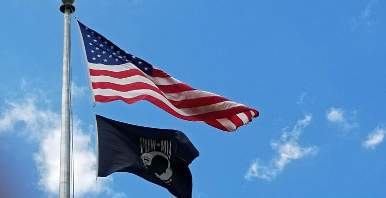 United States Flag at Andersonville National Cemetery in Georgia.