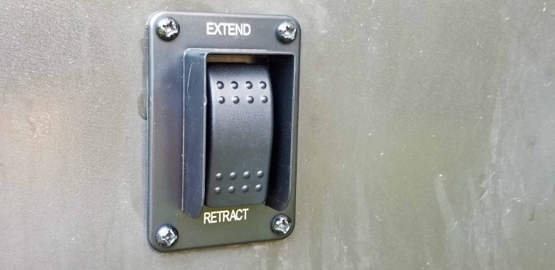 Stabilizer Jack Switch replacement