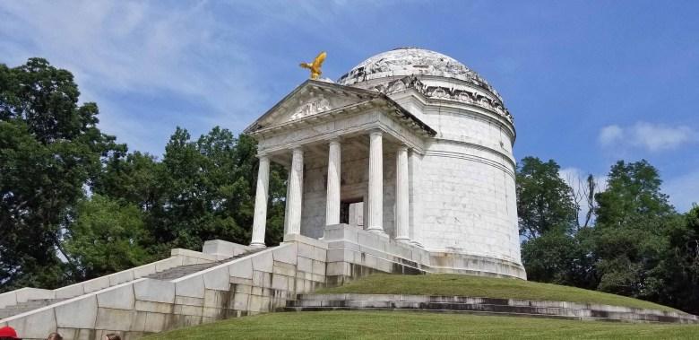 Illinois Monument in Vicksburg National Military Park