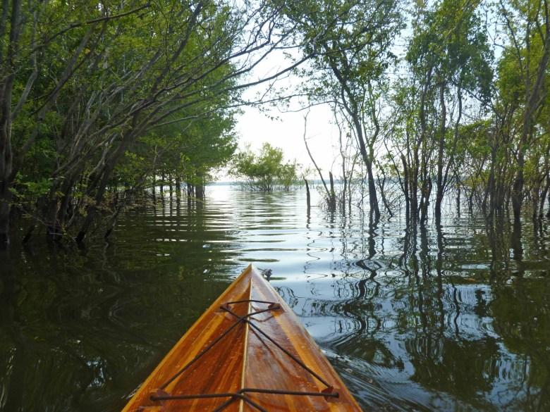 brad saum kayaking Grenada Lake