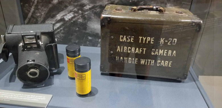 aerial photography camera during WWII