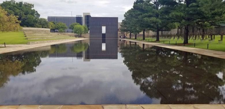 Oklahoma City National Memorial where The Survivor Tree is located