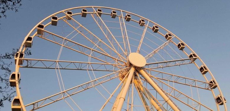 SkyWheel Ferris Wheel in Pier Park