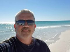 Brad Saum at Panama City Beach