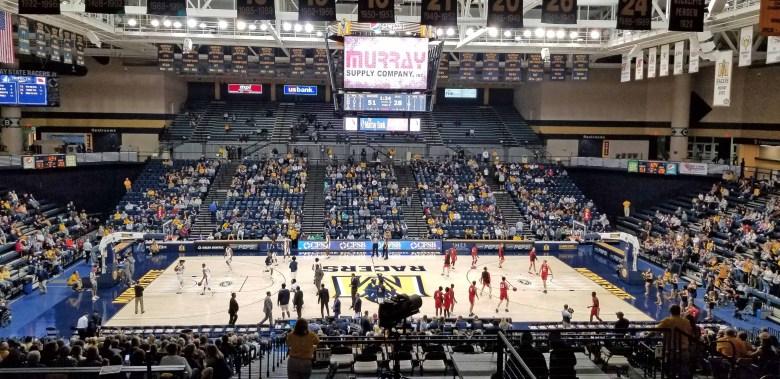 Murray State and Martin Methodist basketball pre-game.