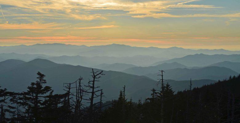 Appalachian Mountains sunset