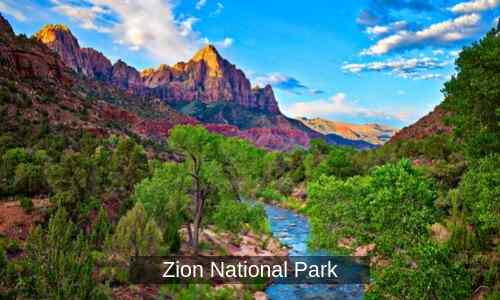 Zion National Park - one of the most popular RV destinations