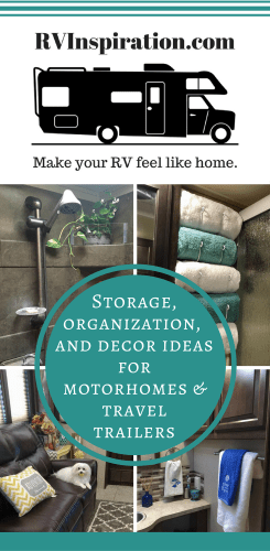 RV Inspiration website | Storage, Organization, and Decor Ideas for Travel Trailers, Campers & Motorhomes