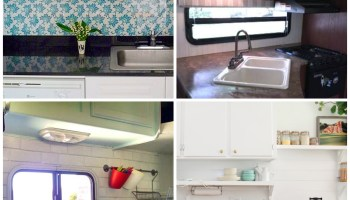 Incredible RV Makeovers with Farmhouse Style Decor