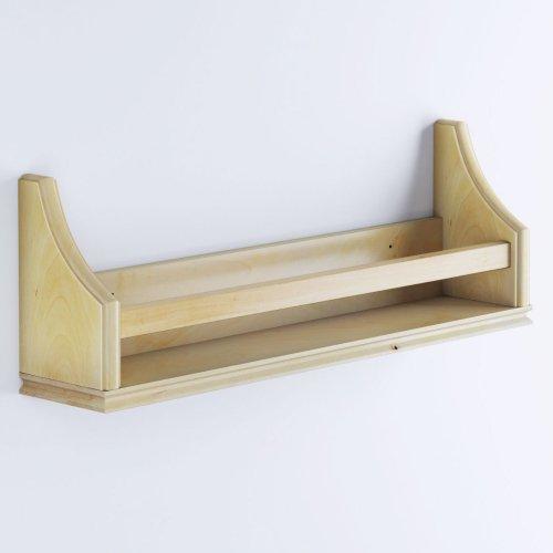 RV shoe storage idea: mount shelves to wall next to door