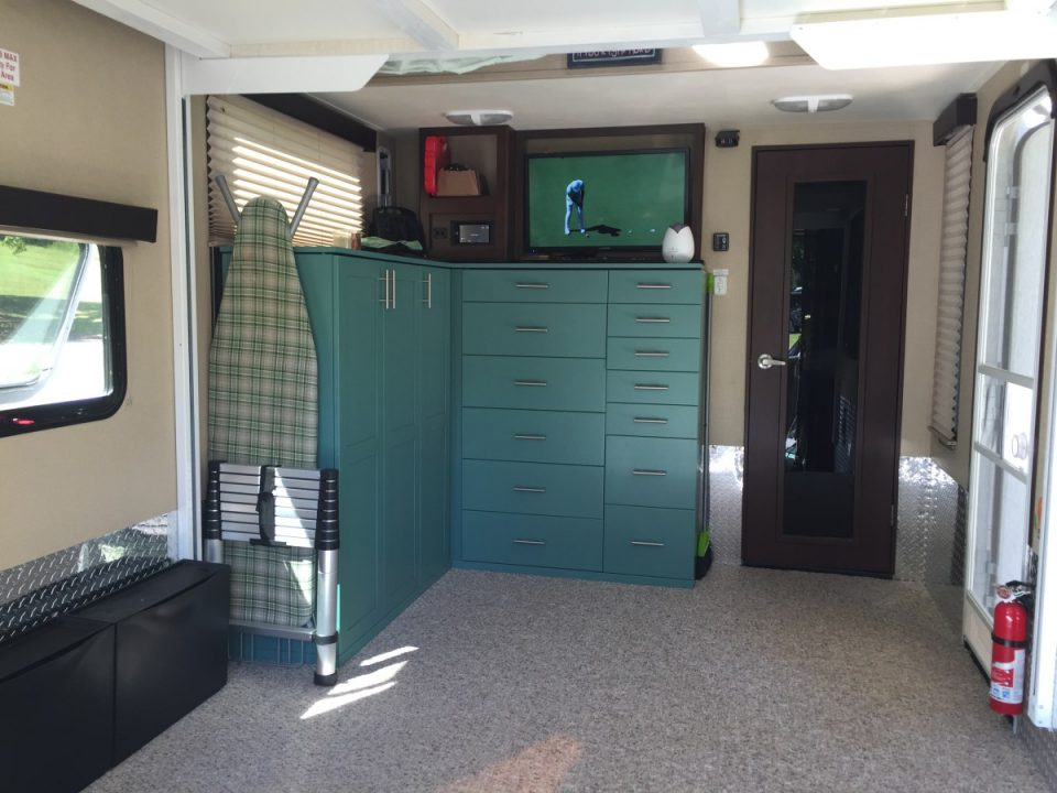 6 Incredible Toy Hauler Garage Transformations Rv