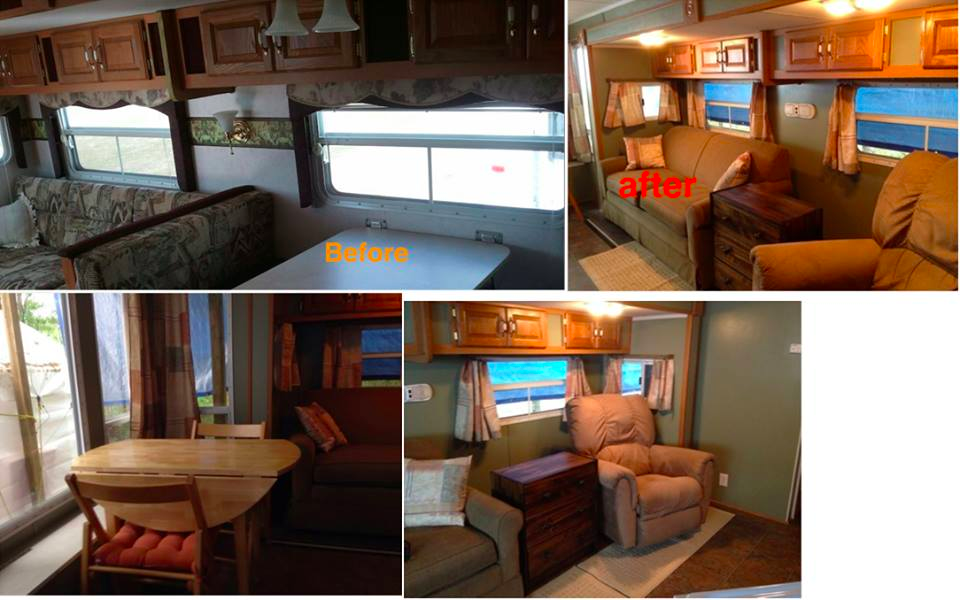 Awesome Table And Chairs To Replace Dining Booth In RV | RVs, Campers, Travel  Trailers