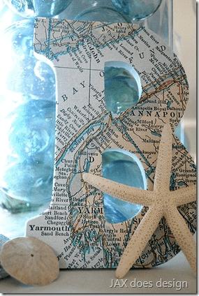 Maritime Map Letter