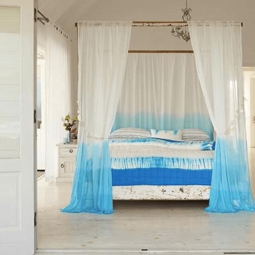 dip dye omber curtains