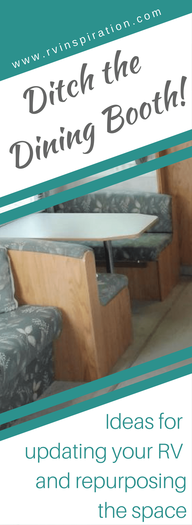 RV Owners Who Replaced Their Dining Booths   RVs, campers, travel trailers, and motorhomes without the dinette booth