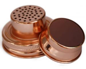 copper cocktail mixer lid