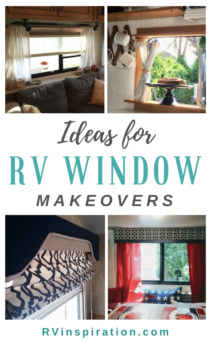 Rv Window Makeover Ideas Rv Inspiration