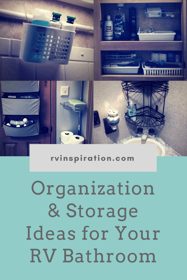 50+ Ideas For Organizing And Adding Storage To Tiny Bathrooms In Campers,  Motorhomes,