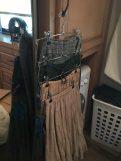#RV #closet #storage and #organization idea | rvinspiration.com | ideas for a #camper, #traveltrailer, or #motorhome