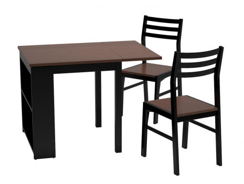Dining table with storage for motorhomes, campers, and travel trailers | RV furniture