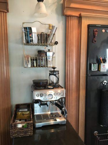 #coffeestation in our #RV | RVinspiration.com