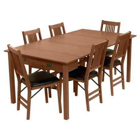 Expanding dining table with storage for motorhomes, campers, and travel trailers | RV furniture