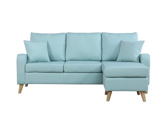 Colorful sectional - Best RV furniture - sofas or couches for motorhomes, campers, and travel trailers